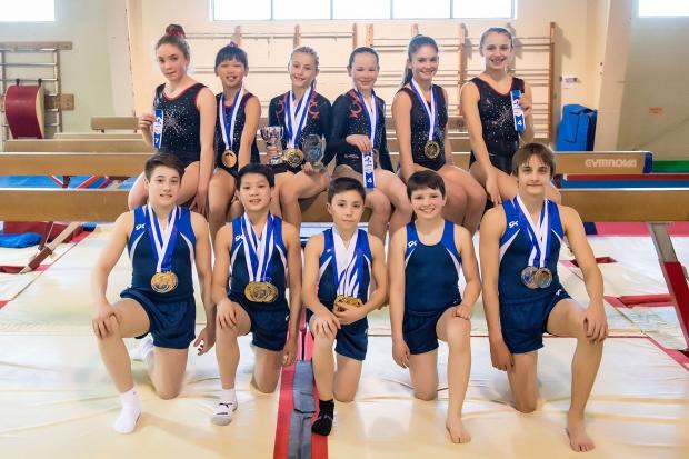Le Club Sher-gym récolte 19 médailles lors des derniers championnats de l'Est