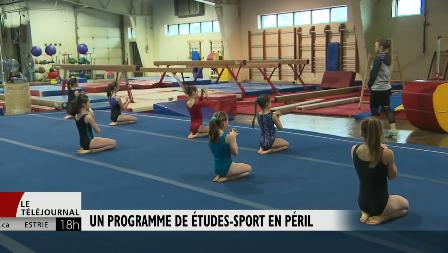 Reportage de radio canada sur le programme concililiation étude sport – École Carillon