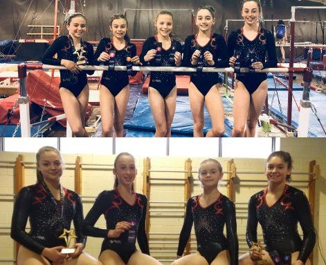 Résultats de nos gymnastes à la Coupe Québec, nos athlètes dans les 8 premières places!