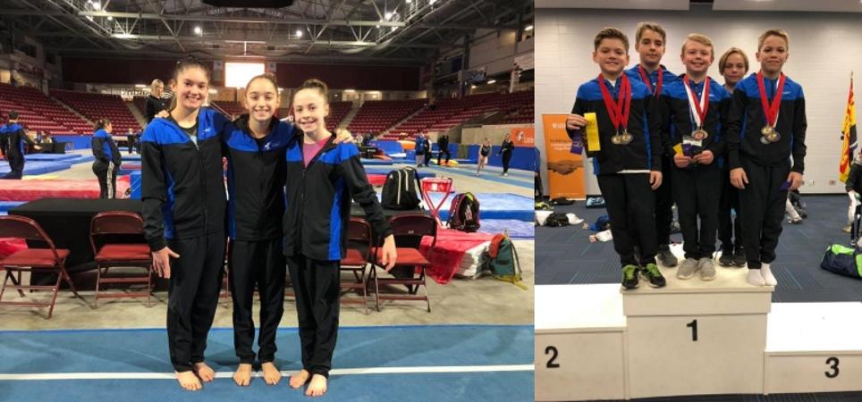 Des premières places pour nos athlètes aux Championnats canadiens de l'Est!