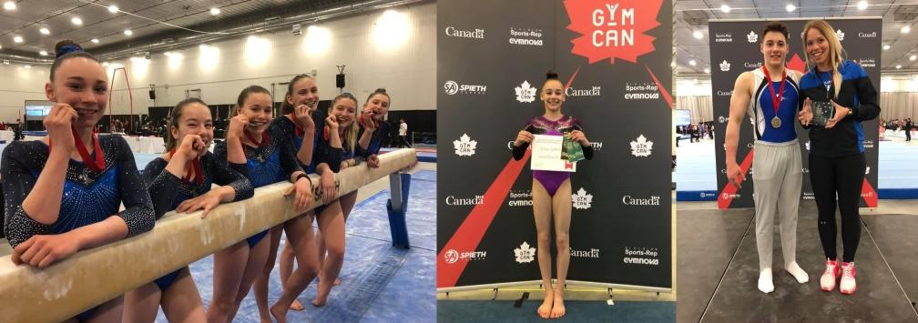 Médailles et récompenses pour nos athlètes aux Championnats canadiens !